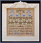 Country Cottage Needleworks - Walk Before You Fly