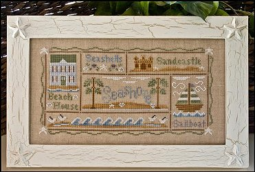 Country Cottage Needleworks - A Day at the Beach MAIN