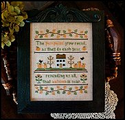 Country Cottage Needleworks - Autumn Pumpkins THUMBNAIL