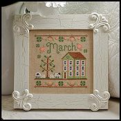 Country Cottage Needleworks - Cottage of the Month - March Cottage