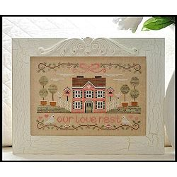 Country Cottage Needleworks - Our Love Nest MAIN