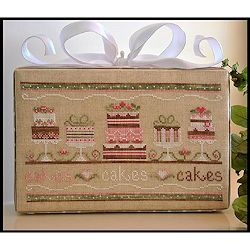 Country Cottage Needleworks - Party Cakes MAIN