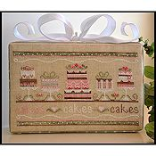 Country Cottage Needleworks - Party Cakes THUMBNAIL