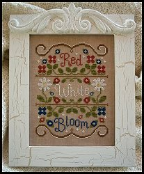 Country Cottage Needleworks - Red, White and Bloom_MAIN