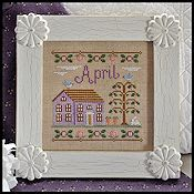 Country Cottage Needleworks - Cottage of the Month - April Cottage THUMBNAIL