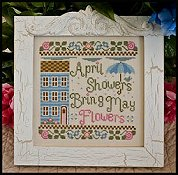 Country Cottage Needleworks - April Showers THUMBNAIL