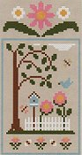 Country Cottage Needleworks - Spring Social Series #1 Birdhouse Garden