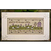 Country Cottage Needleworks - Sheep In The Meadow THUMBNAIL