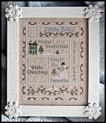 Country Cottage Needleworks - Snowflake Serenade MAIN
