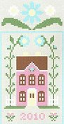 Country Cottage Needleworks - Spring Social Series #3 Pretty Pink House