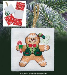 Christmas Pocket Ornaments - Ginger Boy