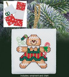 Christmas Pocket Ornaments - Ginger Girl