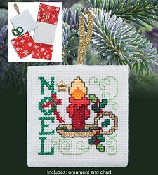 Christmas Pocket Ornaments - Noel
