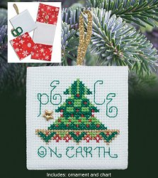 Christmas Pocket Ornaments - Peace on Earth