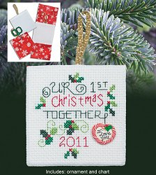 Christmas Pocket Ornaments - 1st Christmas Together