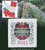Christmas Pocket Ornaments - 2011 Ornament THUMBNAIL