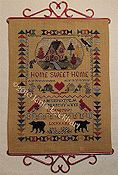 Cross-Point Designs - Home Sweet Home Sampler THUMBNAIL