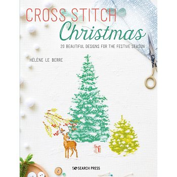 Search Press - Cross Stitch Christmas MAIN