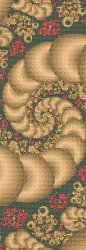 Cross Stitch Collectibles - Fractal 101 Bookmark MAIN