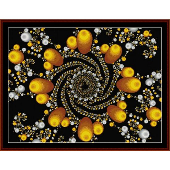 Cross Stitch Collectibles - Fractal 108_THUMBNAIL
