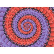 Cross Stitch Collectibles - Fractal 122 THUMBNAIL