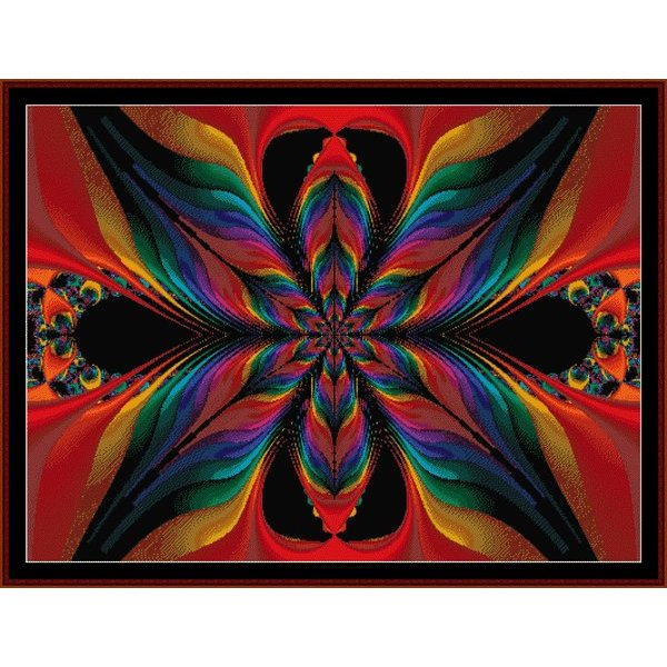 Cross Stitch Collectibles - Fractal 001
