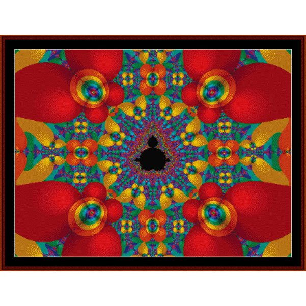 Cross Stitch Collectibles - Fractal 169_THUMBNAIL