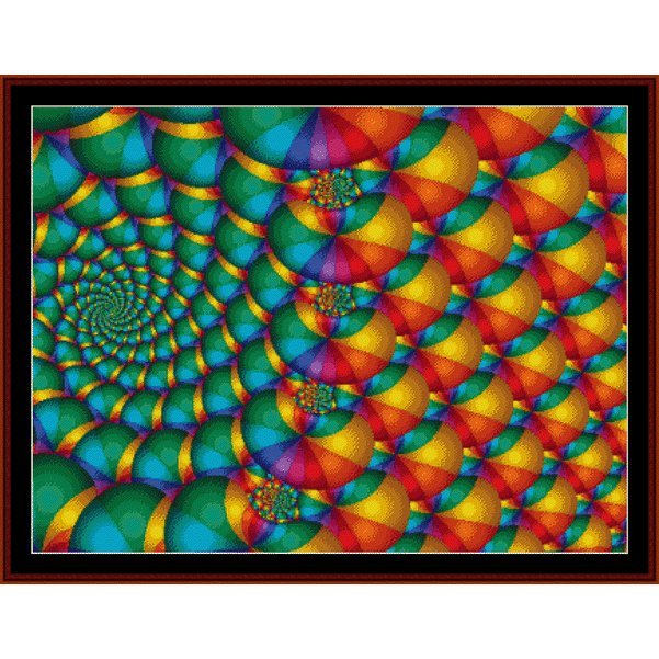 Cross Stitch Collectibles - Fractal 170 THUMBNAIL