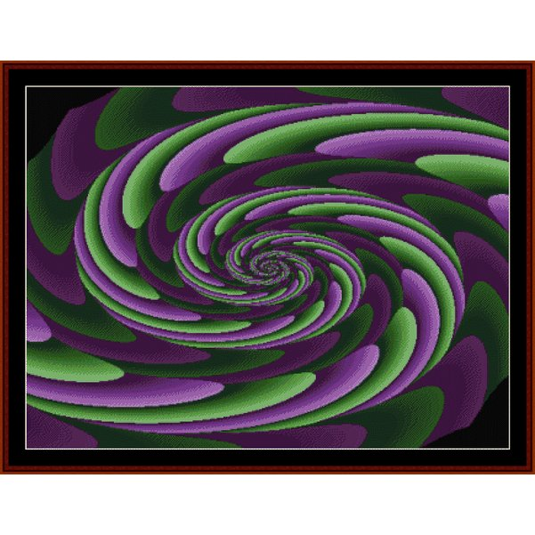 Cross Stitch Collectibles - Fractal 171 THUMBNAIL