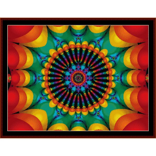 Cross Stitch Collectibles - Fractal 172