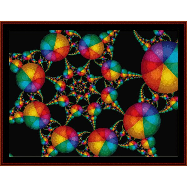 Cross Stitch Collectibles - Fractal 194 THUMBNAIL