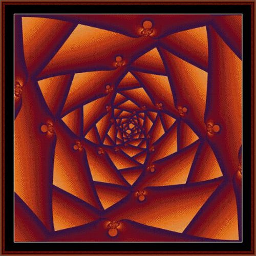 Cross Stitch Collectibles - Fractal 023 THUMBNAIL