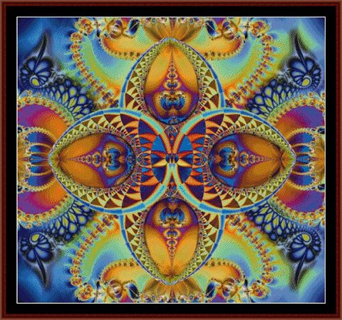 Cross Stitch Collectibles - Fractal 029 THUMBNAIL