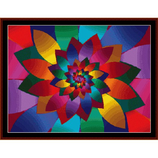 Cross Stitch Collectibles - Fractal 062_THUMBNAIL