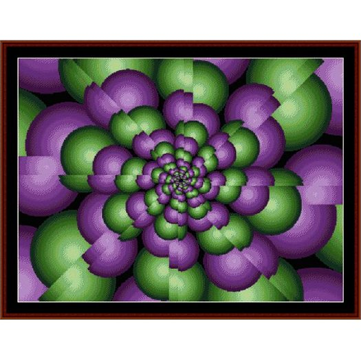 Cross Stitch Collectibles - Fractal 063 MAIN