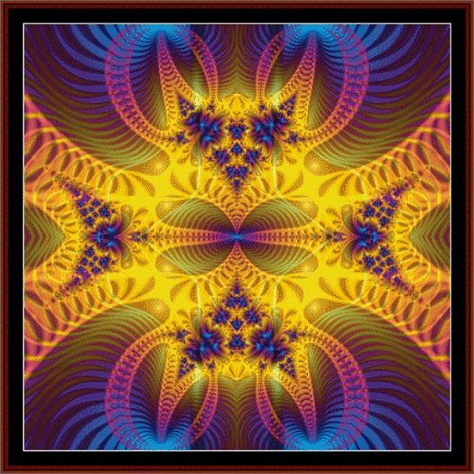 Cross Stitch Collectibles - Fractal 072 THUMBNAIL