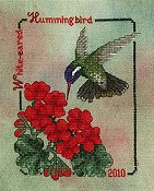 Crossed Wing Collection - Commemorative Hummingbirds of the World 2010 - White-eared Hummingbird THUMBNAIL