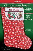Christmas Stockings Chart - Joyful Stockings