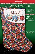 Christmas Stockings Chart - Star Shine Ornaments THUMBNAIL
