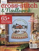 cover of Cross Stitch & Needlework Magazine Holiday 2015