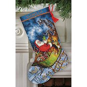 Dimensions Stocking Kit - Santa's Flight