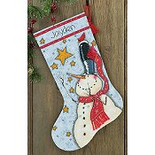 Dimensions Stocking Kit - Tall Hat Snowman