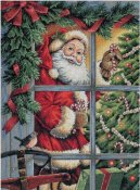 Dimensions Gold Collection Kit - Candy Cane Santa