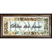 Bless This House Cross Cross Stitch Kit