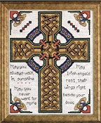 Design Works - Celtic Cross Cross Stitch Kit