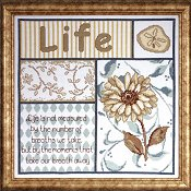 Life's Moments Cross Stitch Kit