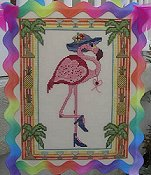 Designs By Lisa - Florence the Flamingo Floozy