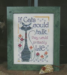 Designs By Lisa - If Cats Could Talk MAIN