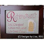 Designs By Lisa - Retirement - Beer THUMBNAIL