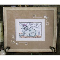 IF THE CROWN FITS SAMPLER-CROSS STITCH-DESIGNS BY LISA